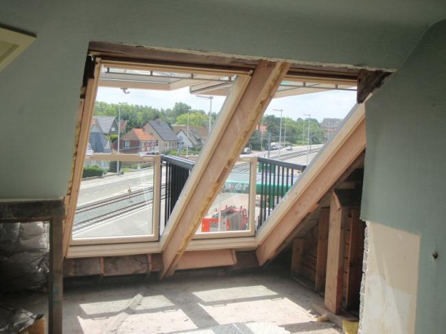 Gordijn Voor Dakraam : Dakwerken de kappe dakvenster koepels